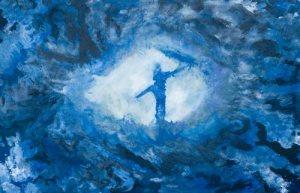 The_Whirlpool_Galaxy...Cross